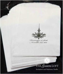 The Green Loft: Tiffany Blue Favor Bags