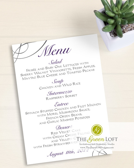 The Green Loft: Dazzling Crystal Menu