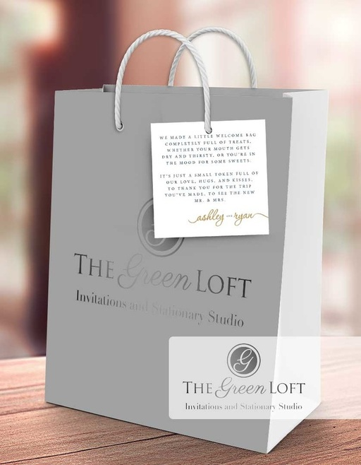 The Green Loft: Gift Bag Tags