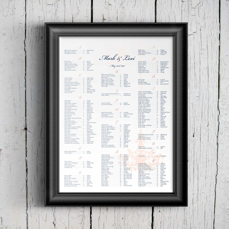 The Green Loft: Chandelier Poster Seating Chart